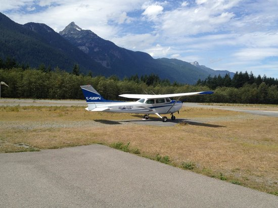 Glacier Air: The plane I flew!
