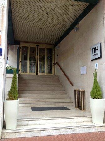 NH La Spezia: la entrada