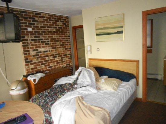 Michael's Oceanfront Motel: Our shabby room