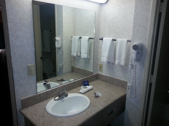 Travelodge Santa Clarita/Valencia: Vanity area
