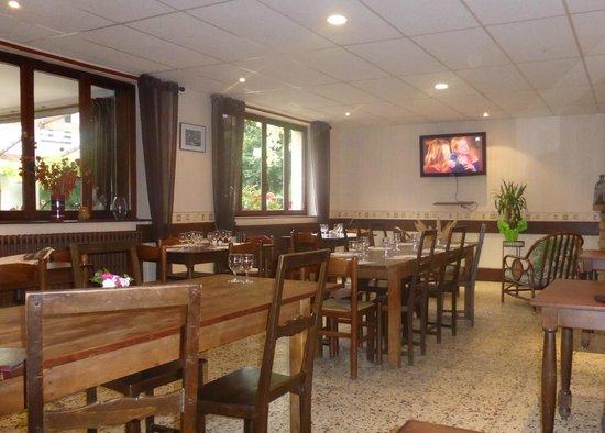 restaurant at L'Auberge de Chaussin
