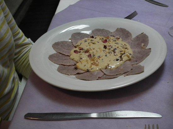 Al Vecchio Fontec : Veal starter