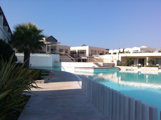 Cavo Spada Luxury Resort & Spa: From the poolarea