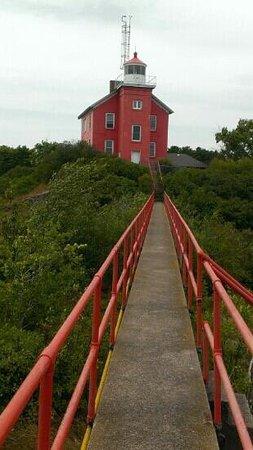 Marquette Maritime Museum: Light house tour.