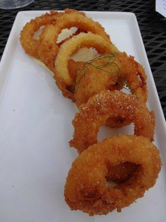 Taverna Tagaris: Onion ring appetizer was killer