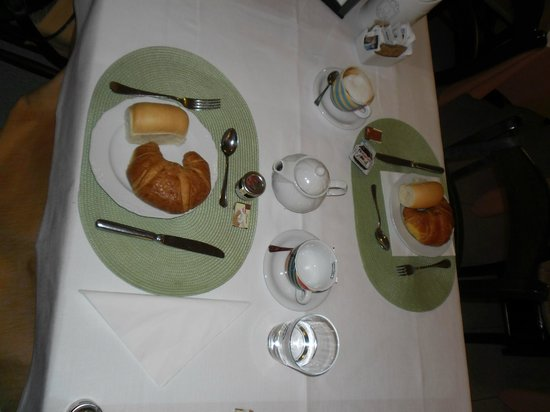 Hotel Antichi Cortili: Frühstücksgedeck