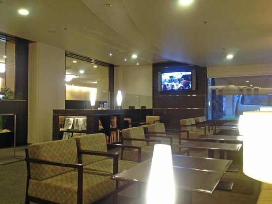 Mitsui Garden Hotel Osaka Yodoyabashi: 宿泊者専用ラウンジ