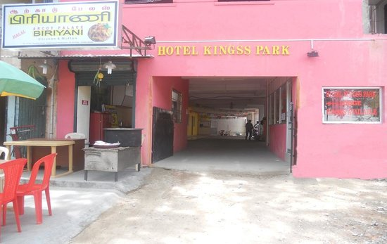 Hotel Kingss Park: Main Enterance