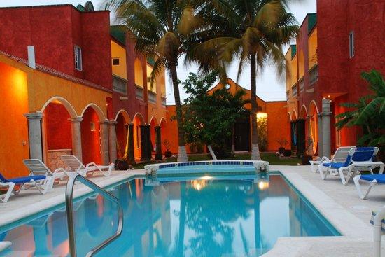 Casa Colonial at night
