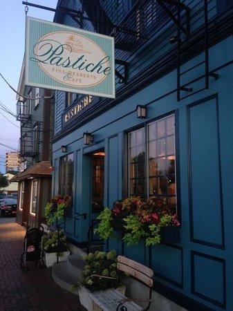 Pastiche Fine Desserts: street view