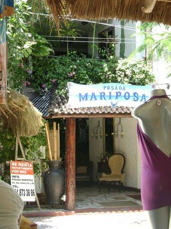 Hotel Boutique Posada Mariposa: Entrada