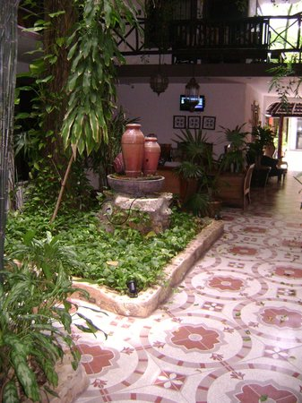Hotel Boutique Posada Mariposa: Patio interno