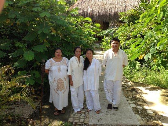 Piedra de Agua Palenque: La familia Piedra de Agua