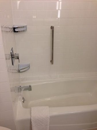 Hilton Atlanta Airport: shower - all modern