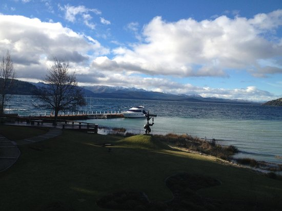 El Casco Art Hotel: Vista para o Lago