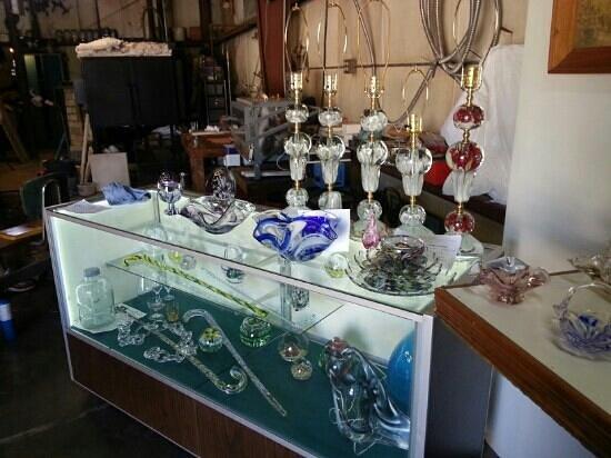 Zimmerman Art Glass Business: Mixed glass