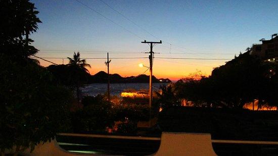 Hotel Casa D'mer Taganga : Vista de la Bahia desde el hotel