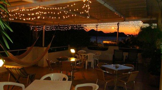 Hotel Casa D'mer Taganga : Terraza y vista del mar