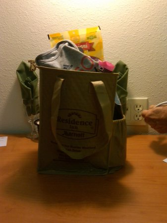 Residence Inn Boston Westford: My Goodie Bag from Jennifer Hogan, GM and her Staff