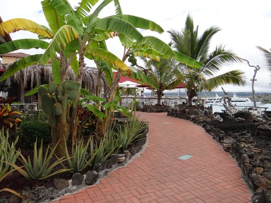 Angermeyer Waterfront Inn : Walkway to the waterfront