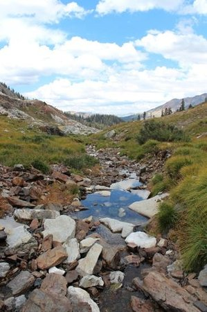Silver City Mountain Resort : Near the end of White Canyon trail