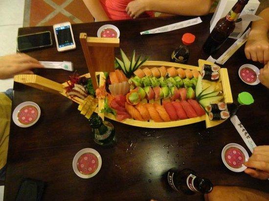 Sushi Los Amigos: Click here...
