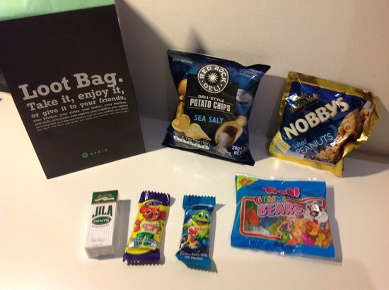 Ovolo Laneways: Loot Bag given on arrival