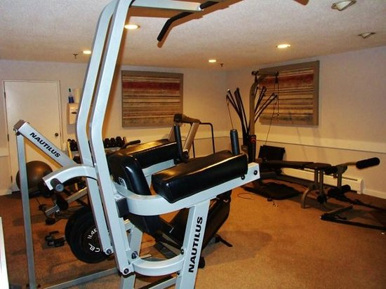 North Star Lodge: Small exercise room