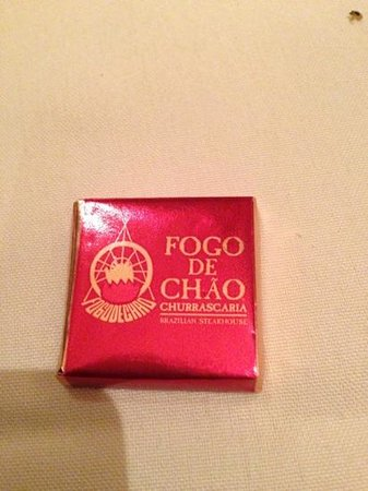 Fogo de Chao Brazilian Steakhouse: chocolate mmmmm