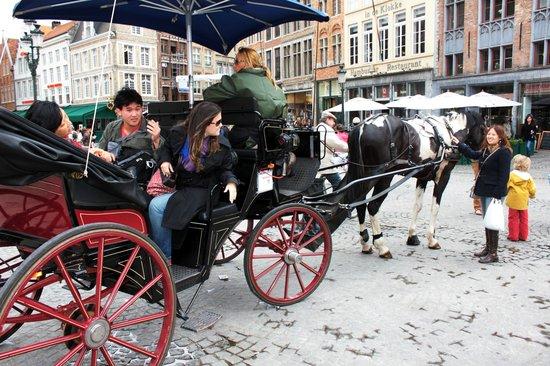 Horse Drawn Carriage Tours: Passeio com carruagem nas ruas de Bruges