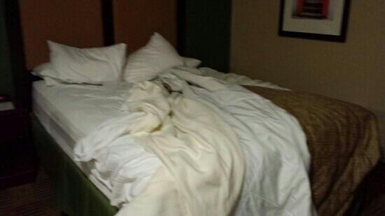 Extended Stay America - Rochester - Henrietta: room condition upon arrival