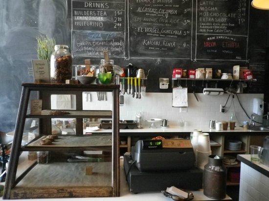 Astro Coffee Shop: The Order Board