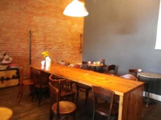 Astro Coffee Shop: Seating area