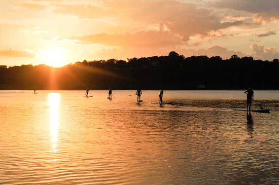 DFW Surf : Sunset Paddles