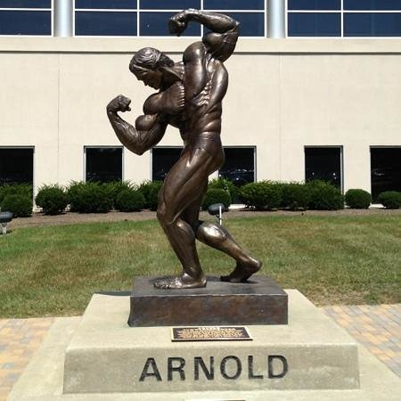 Statue Of Arnold Schwarzenegger Columbus 2018 All You