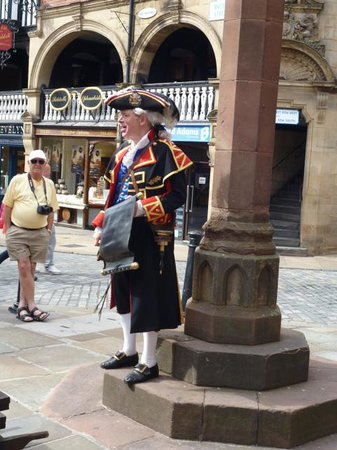 The Coach House Inn: The Town crier
