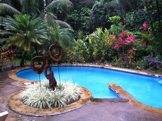Villas De Oros pool