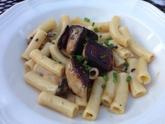 Newmans at 988: Foie gras pasta - fabulous!