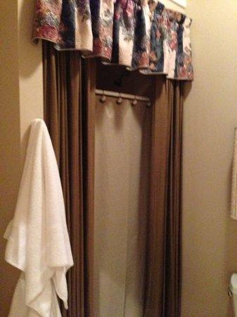 Heavenly Habitat: shower Maureen O'Hara room