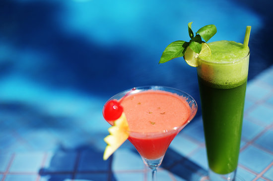 Natura Resort: Enjoy our healthy cocktails