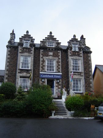 Castlebank Hotel: The front of Castlebank