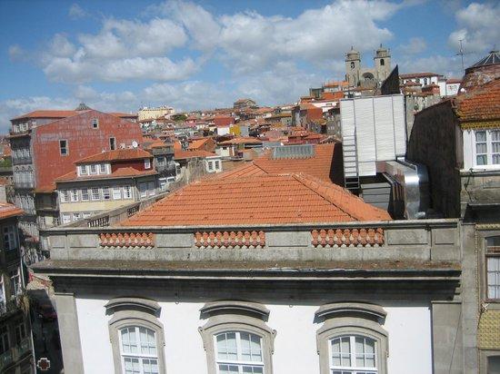 Hotel da Bolsa: view from room