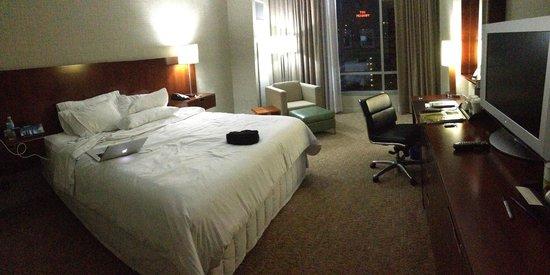 The Westin Memphis Beale Street : Room. 9th floor.