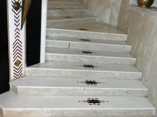 Marble Stairs With Inlay Work Picture Of Orient Taj Agra