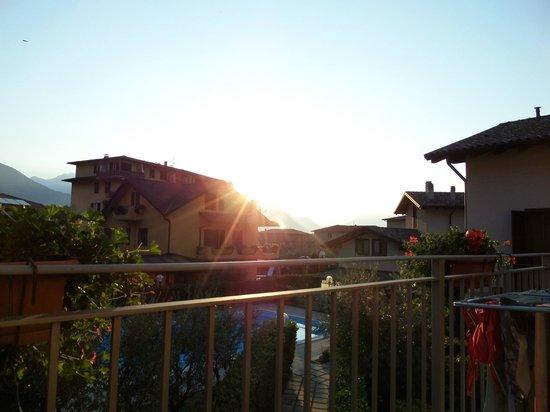 Residence Domaso - Resort & SPA: Sonnenaufgang