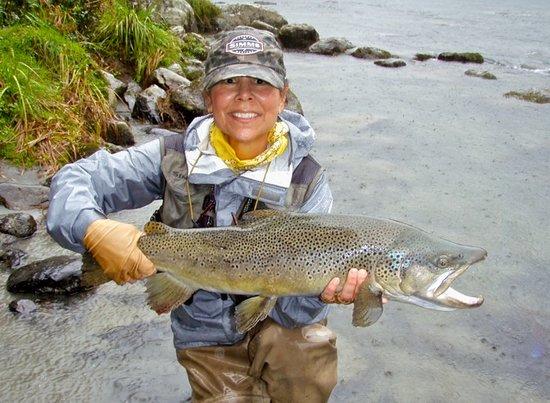 River Haven Lodge: Kerrie Modder w/10 lb brown~