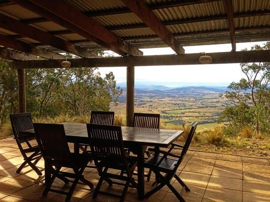 Eaglereach Wilderness Resort: View from the verandah
