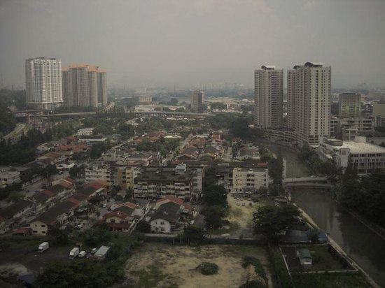 Duta Hotel & Residence: view from hall