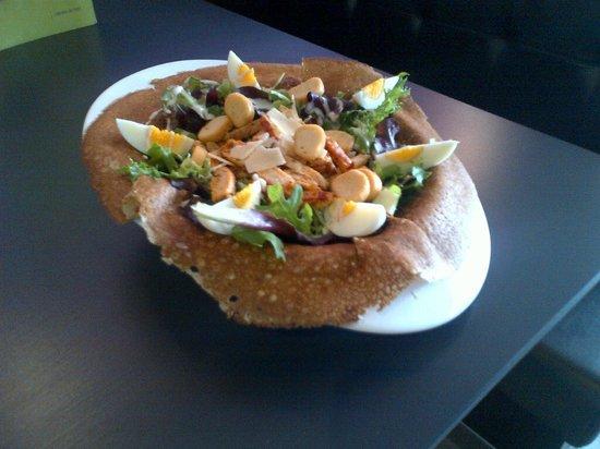 Crêperie La Gourmandise : La Caesar Salade
