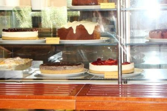 Melia Cafe: Selection of desserts